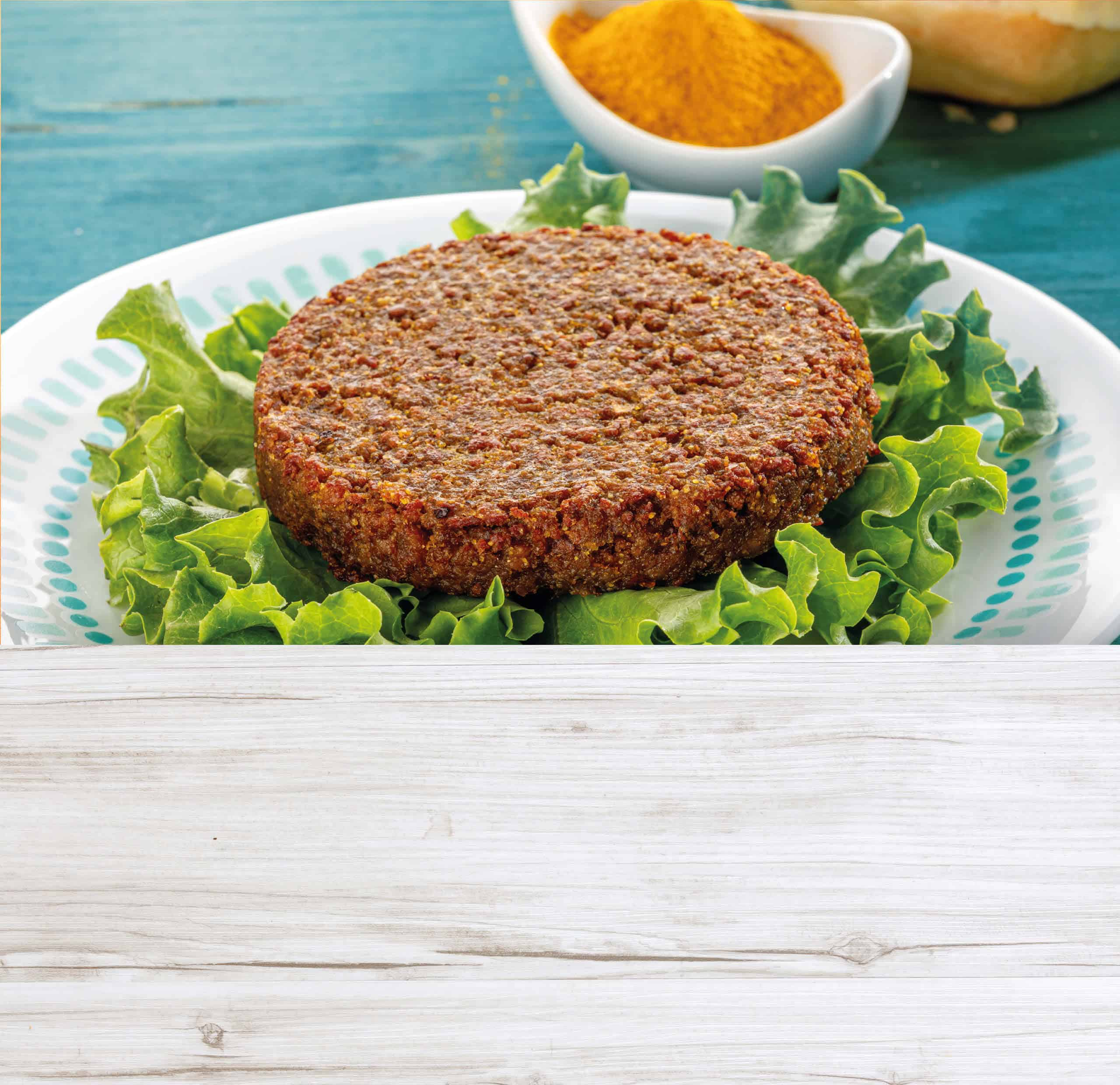Burger alla curcuma Agreat