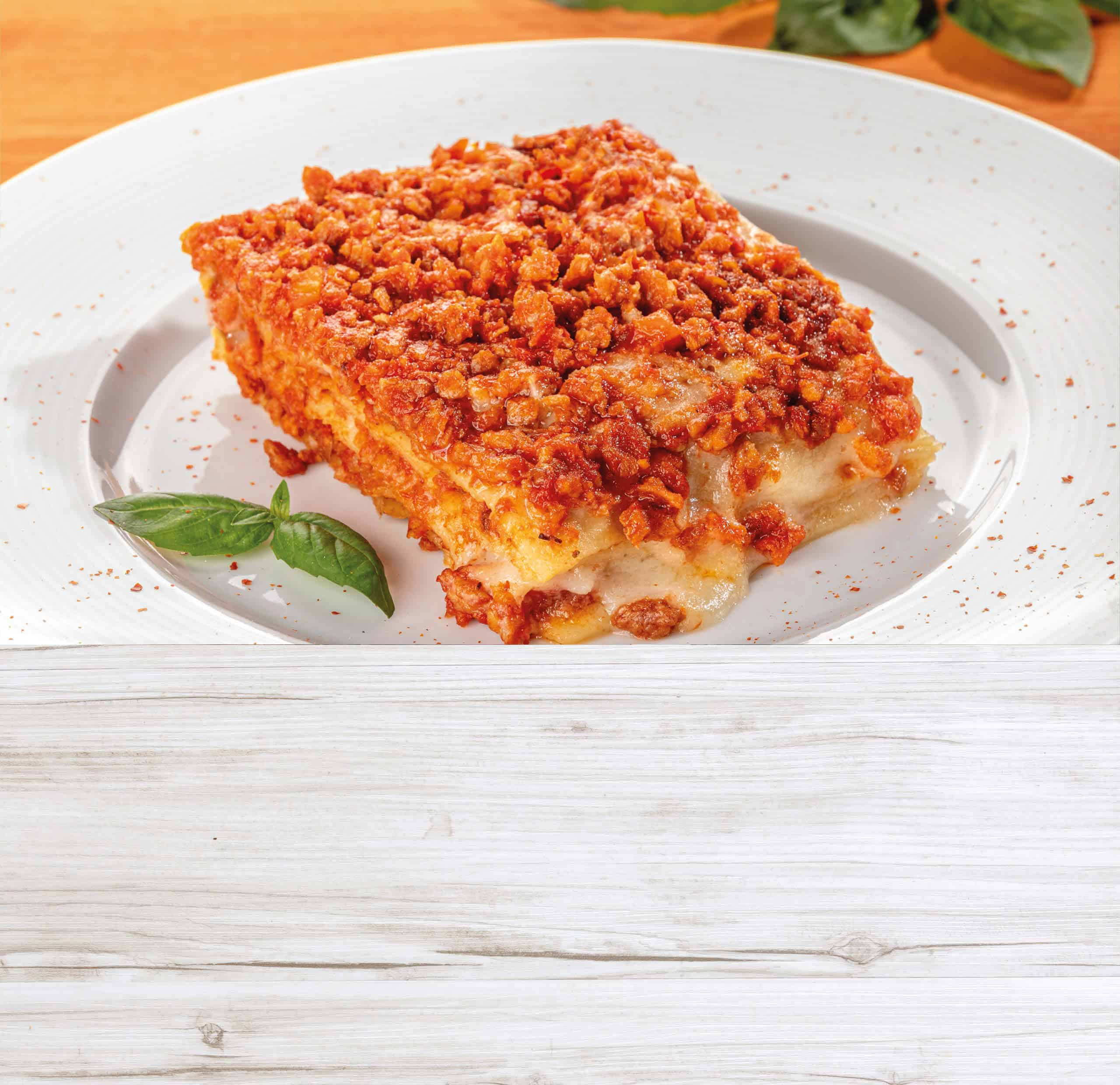 Lasagne vegetali Agreat
